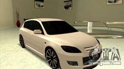 Mazda Speed 3 Stance v.2 for GTA San Andreas