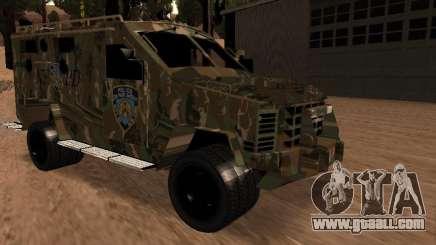 Lenco Bearcat NYPD for GTA San Andreas