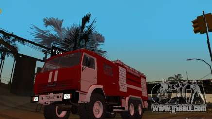KAMAZ 43118 AC-7 for GTA San Andreas