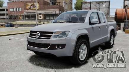 Volkswagen Amarok TDI for GTA 4