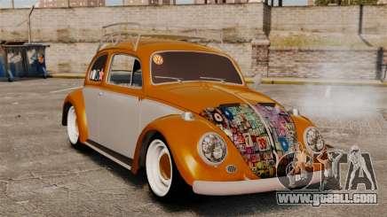 Volkswagen Fusca Edit for GTA 4