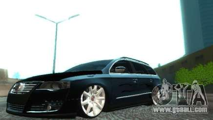 Volkswagen Passat B6 Variant Com Bentley 20 Fixa for GTA San Andreas