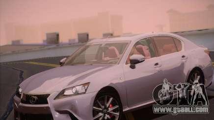Lexus GS 350 F Sport Series IV for GTA San Andreas
