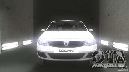 Dacia Logan for GTA Vice City