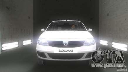 Dacia Logan for GTA Vice City