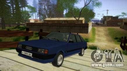 Audi 80 1987 V1.0 for GTA San Andreas