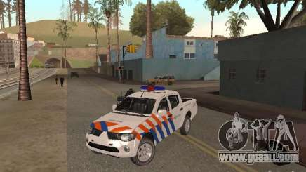 Mitsubishi L200 Police for GTA San Andreas