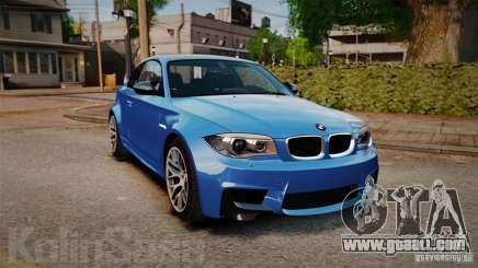 BMW 1M 2011 Carbon for GTA 4