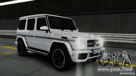 Mercedes-Benz G65 AMG (W463) 2012 v1.2 for GTA 4
