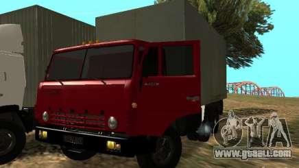KAMAZ 5320 for GTA San Andreas