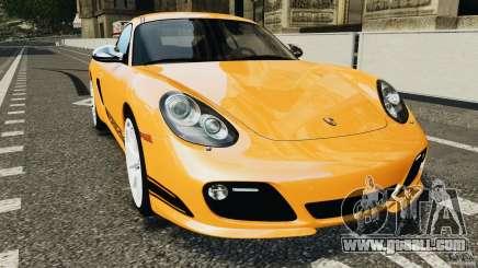 Porsche Cayman R 2012 [RIV] for GTA 4