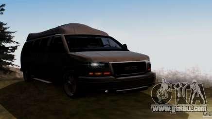 GMC Savana AWD for GTA San Andreas
