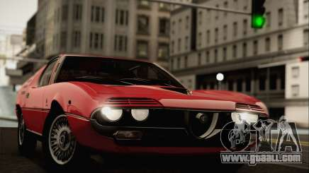 Alfa Romeo Montreal 1970 for GTA San Andreas