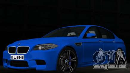 BMW M5 F10 2012 for GTA Vice City