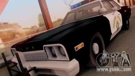 Dodge Monaco 1974 California Highway Patrol for GTA San Andreas