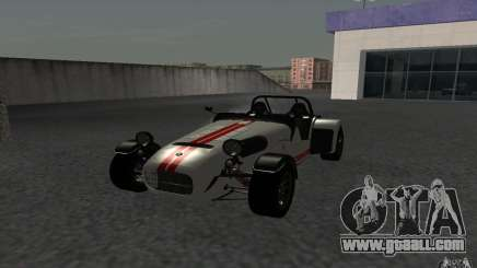 Caterham R500 for GTA San Andreas