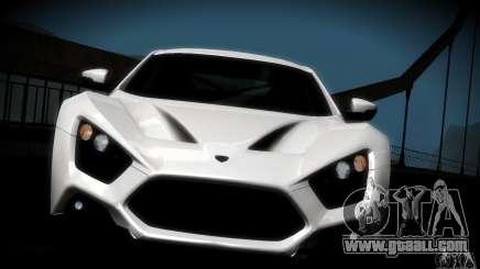 Zenvo ST1 2010 for GTA San Andreas