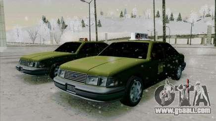 HD Taxi SA from GTA 3 for GTA San Andreas