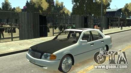 Mercedes-Benz C220 W202 for GTA 4