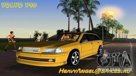 VOLVO V40 for GTA Vice City