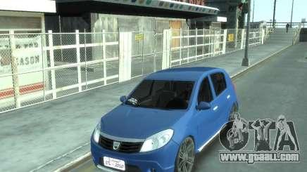 Renault Sandero v1.0 for GTA 4