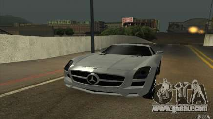 Mercedes-Benz SLS AMG 2010 for GTA San Andreas
