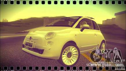 Fiat 500 Lounge 2010 for GTA San Andreas