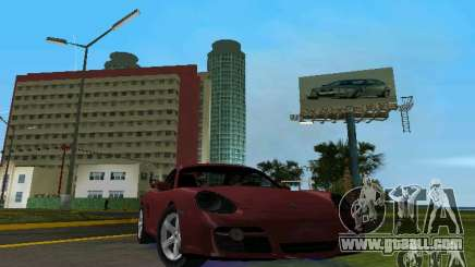 Porsche Cayman for GTA Vice City