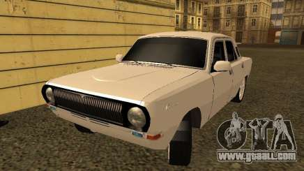 GAZ 24-10 Volga white for GTA San Andreas