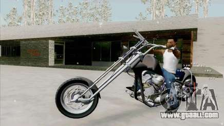 Harley for GTA San Andreas