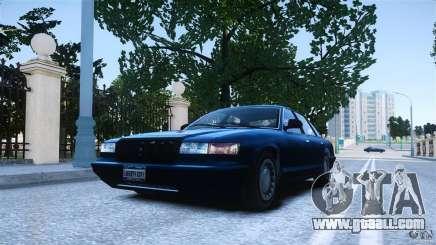 Civilian Taxi - Police - Noose Cruiser for GTA 4