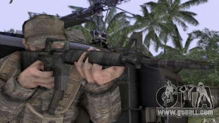 M16A1 Vietnam war for GTA San Andreas