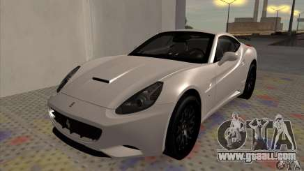 Ferrari California Hamann for GTA San Andreas
