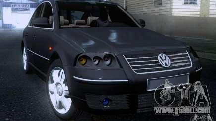 Volkswagen Passat B5+ for GTA San Andreas