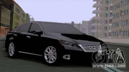 Lexus ES350 for GTA San Andreas