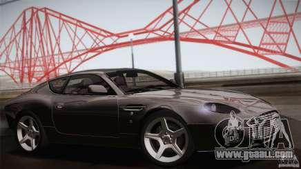 Aston Martin DB7 Zagato 2003 for GTA San Andreas