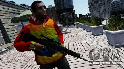 SIG SG 550 Sniper for GTA 4