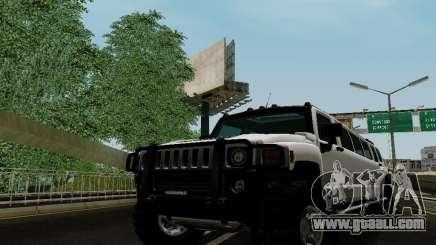 Hummer H3 Limousine for GTA San Andreas