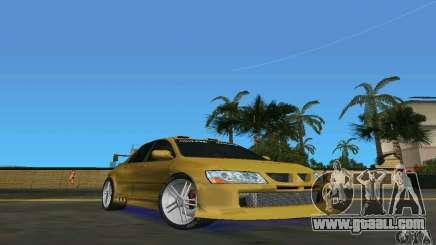 Mitsubishi Lancer Evo for GTA Vice City