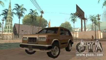 New Landstalker for GTA San Andreas