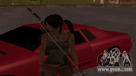 Skin Tomb Raider 2013 for GTA San Andreas