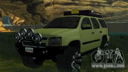 Chevrolet Tahoe Off Road for GTA San Andreas