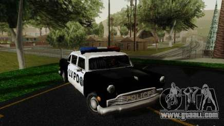 Cabbie Police LV for GTA San Andreas