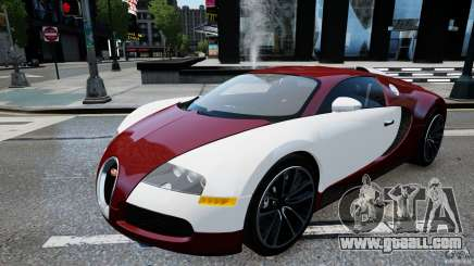 Bugatti Veyron 16.4 v1.0 wheel 1 for GTA 4