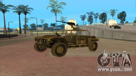 FAV Buggy from Battlefield 2 for GTA San Andreas