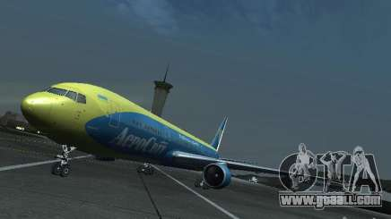 Boeing 767-300 AeroSvit Ukrainian Airlines for GTA San Andreas
