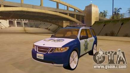 Saab 9-7X Police for GTA San Andreas