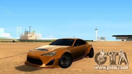Toyota FT86 Rocket Bunny V2 for GTA San Andreas