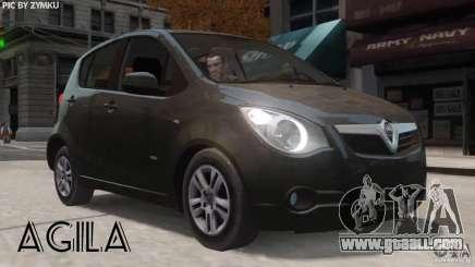 Vauxhall Agila 2011 for GTA 4