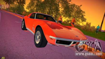 Chevrolet Corvette (C3) Stingray T-Top 1969 for GTA Vice City
